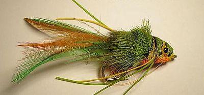 Swimming Frog Diver Green/Orange -1/0