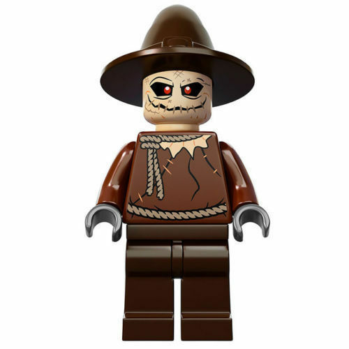 Lego Super Heroes Scarecrow minifigure from set 10937  new