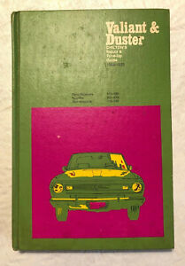 CHILTONS VALIANT DUSTER 1968-76 REPAIR TUNE UP GUIDE