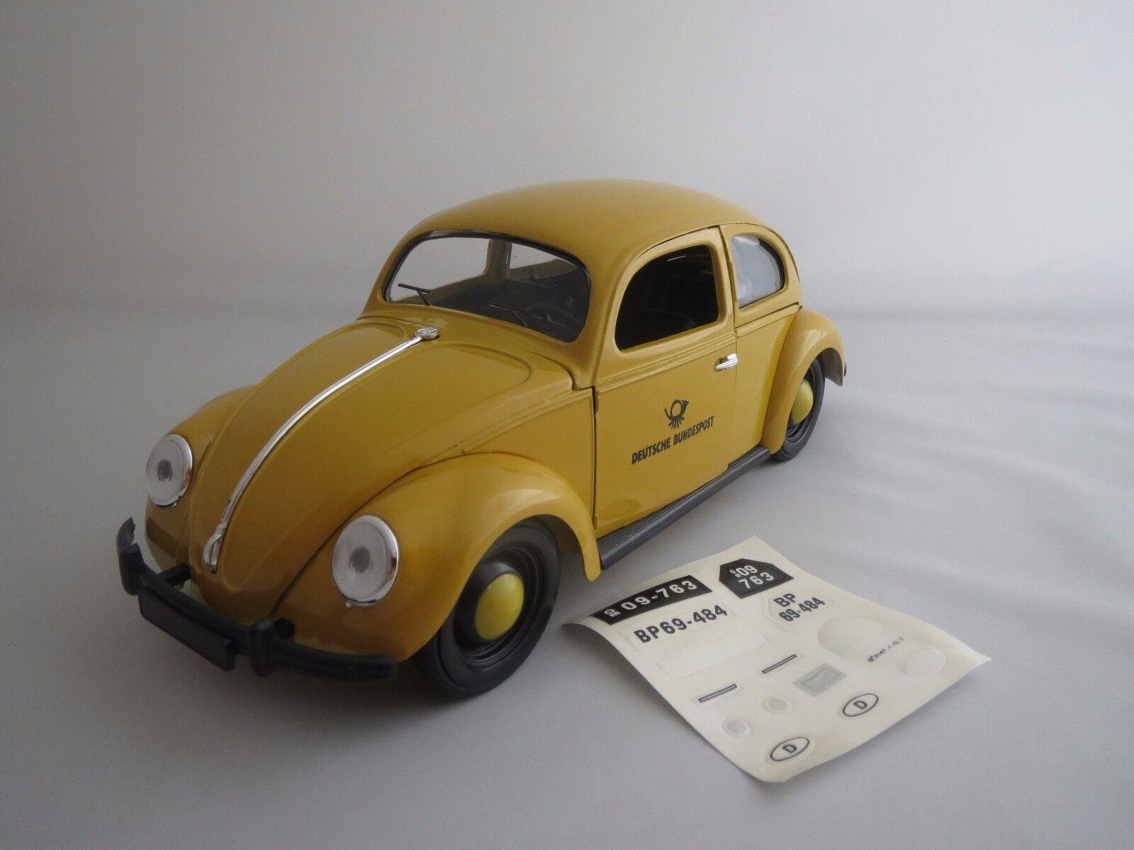 SOLIDO 9148 Volkswagen Bretzel coccinelle  1949  (Deutsche Bundespost) 1 17 neuf dans sa boîte