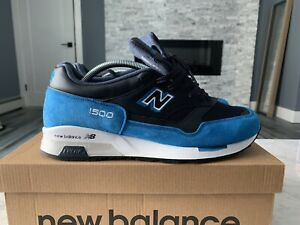 Details about New Balance 1500 WBB Provider Sz 10.5 US Made In England Blue Suede Rare Kith