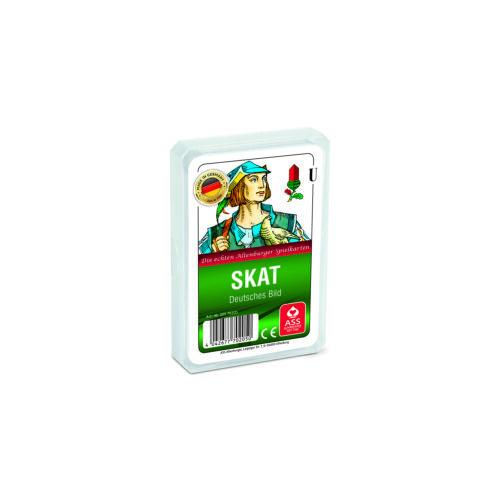 ASS 70205 Skat deutsches Bild Kunststoffetui Spiele
