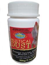 ANC-051 Vetafarm Multical 200g Reptile Calcium and Vitamin Supplement Lizard