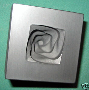 Graphite-Twisted-Knob-Mold-Glass-Push-Mold-Silver-Pour-Mold-roughly-1-8-2-0oz