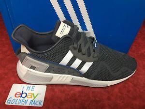 separation shoes 28365 aa911 Details about Adidas Originals EQT Cushion ADV Grey Five White Core Black  Mens Running DA9533