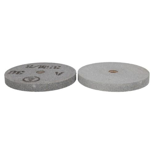 6 150mm Bench Grinder Grinding Discs Wheels 36 (coarse) and 60 (fine) Grit 2pc