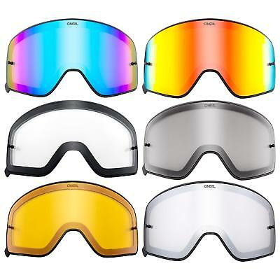 O 'neal Ricambio Disco Magnetico B-50 Nero Goggle Anti Zoccolo Policarbonato Mx-