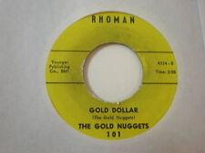 HEAR IT 50's ROCK GUITAR INST The Gold Nuggets Rhoman