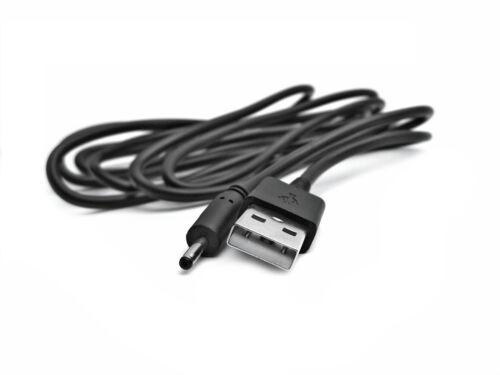 2m USB 5v Nero Cavo Di Alimentazione Caricatore Adattatore per Archos Neon 79 ac79ne Tablet