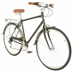 Vilano-Men-039-s-Hybrid-Bike-700c-Retro-City-Commuter