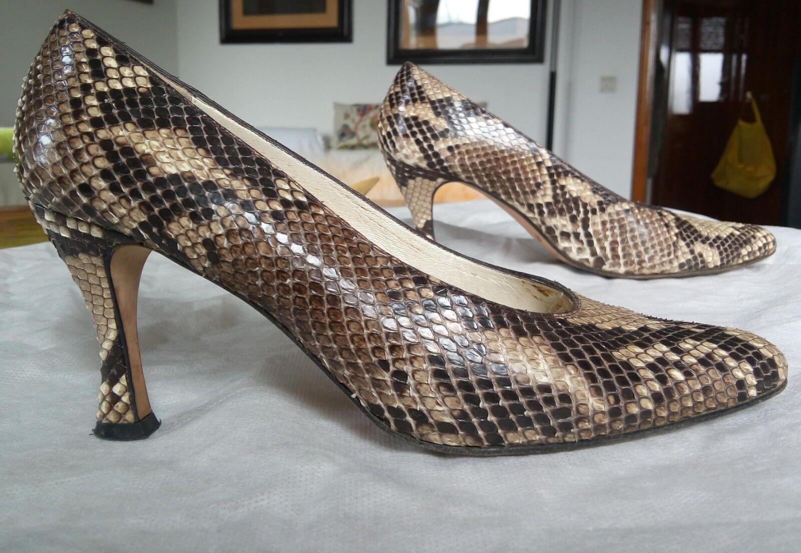negozio a basso costo Scarpe Scarpe Scarpe vero pitone donna 39 - real python  miglior reputazione