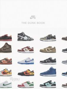 buy online b0fe5 c5d83 Image is loading Nike-SB-The-Dunk-Book-Hardcover-by-Nike-