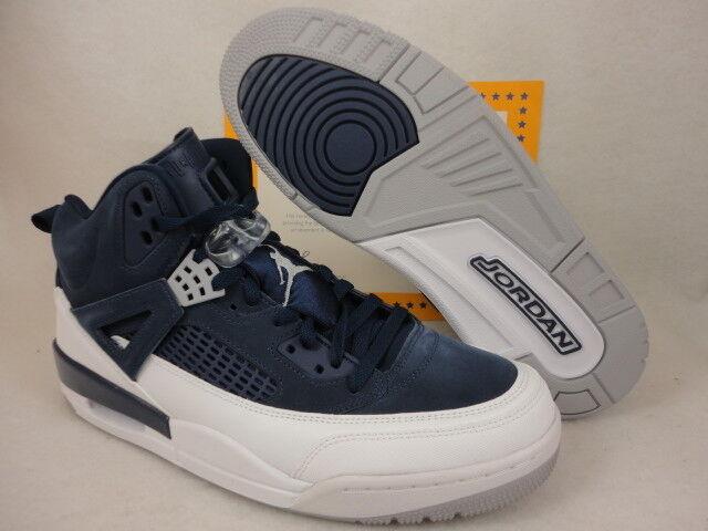 Nike Jordan Spizike, Midnight Navy   Metallic Silver, 315371 406, Size 12