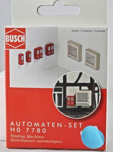 Busch HO 7780 distributori automatici-Set NUOVO con OVP