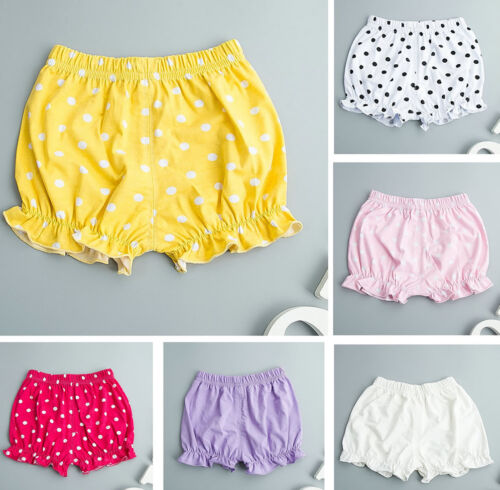 Kids Baby Girl Clothes Newborn Infant Pants Bloomers Shorts Diaper Cover Bottoms
