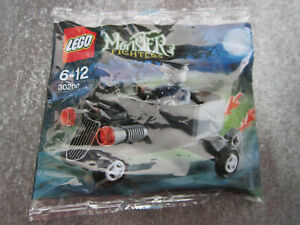 Lego-Monster-Fighters-30200-Zombie-Chauffer-Coffin-Car-New-amp-Sealed
