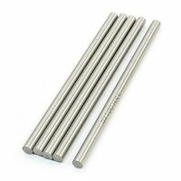 Rc Helicopter 100mm X 5mm Hss Ground Shaft Round Rod 5pcs, New, Free Shipping on sale
