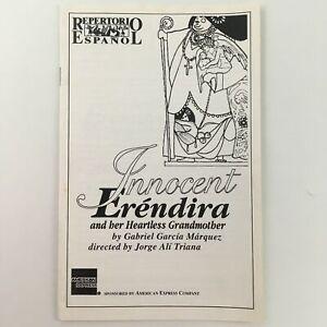 1992 Repertorio Español 'Innocent Erendira and Her Heartless Grandmother'