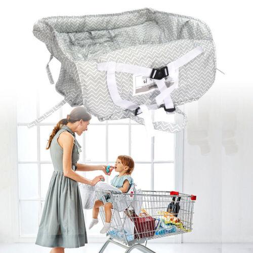 Neu Baby Hochstuhl Sicherheit Sitzbezug Einkaufswagen Abdeckung beim Einkaufen