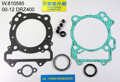 Suzuki DRZ400 DRZ 400 2000 - 2013 Top End Gasket Kit