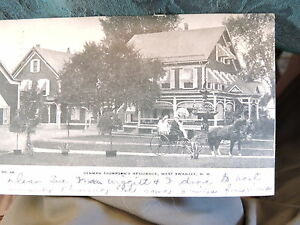 1905-10 Denman Thompson Residence West Swanzey New Hampshire NH Post Card
