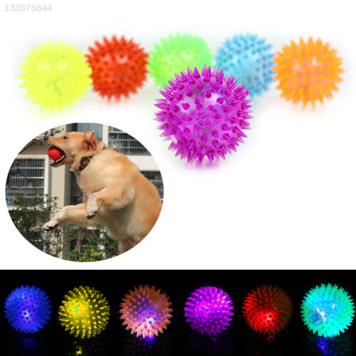 8CE1 Toy Game Spike Lights Gadget Christmas Decoration Balls Squeaky Squeaky