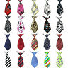 Womens Ladies Fashion Striped Polka Dots Plaids Party Adjustable Tie Necktie NEW