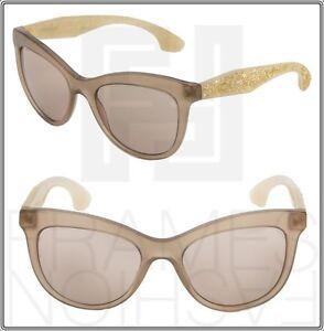 MIU MIU STARDUST MU 10P Beige Opal Crystal Rock Square Sunglasses ... d3fb534e38
