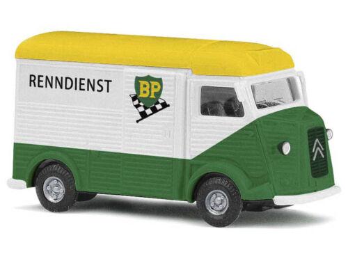 Busch 41910 h0 CAMION CITROEN H BP RENNDIENST