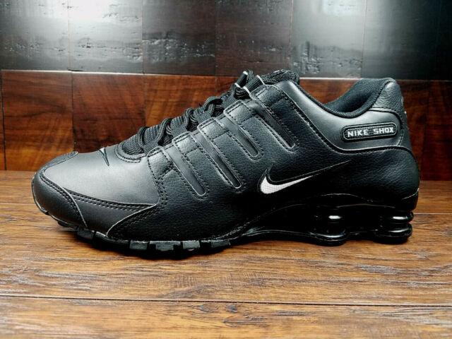 Size 13 - Nike Shox NZ Black - 501524-091