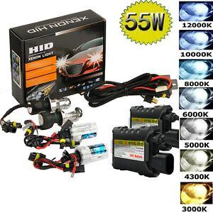 55W HID Xenon Headlight Conversion KIT HID Xenon BULB H1 H3 H4 H7 H11 9005 9006