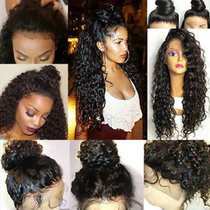 Usa Pre Plucked Peruvian Virgin Human Hair 360 Lace Frontal Wigs