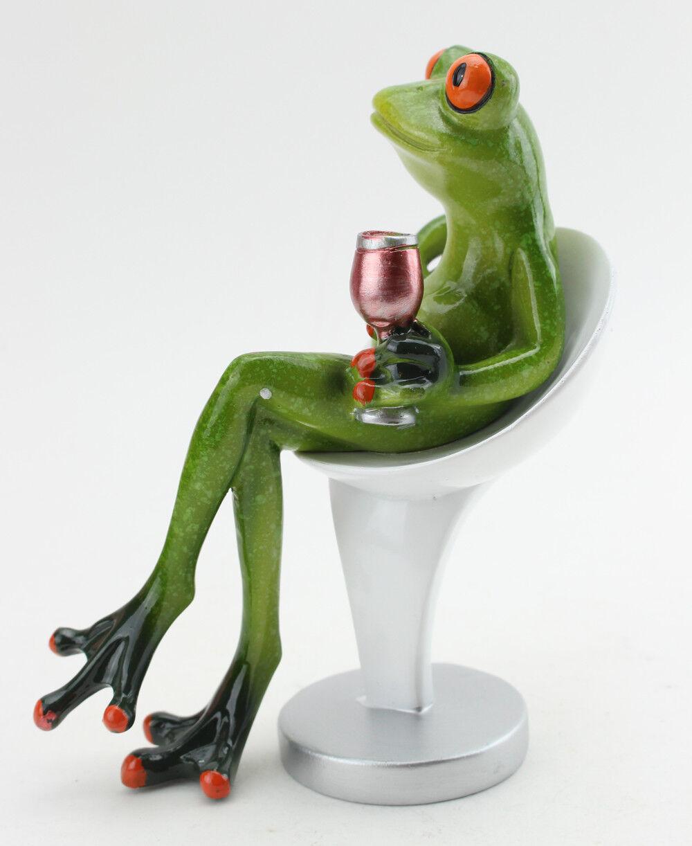 Meditating or Praying Frog Figurine eyeglasses holder *New*