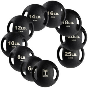 Body-Solid-Dual-Grip-Medicine-Balls-commercial-amp-home-exercise-equipment-BSTDMB