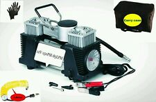 12v  Hi Speed 2 cylinder  Air Compressor /Inflator Pump 150psi -85LPM