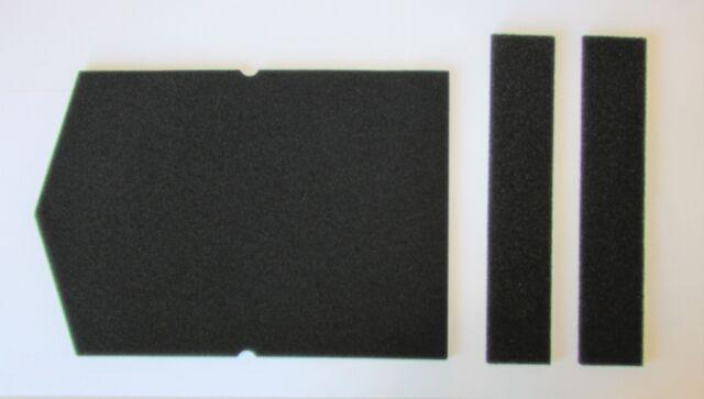 2x Filter Set für Trockner  Miele Schwammfilter 6057930 + 9688381  9688380