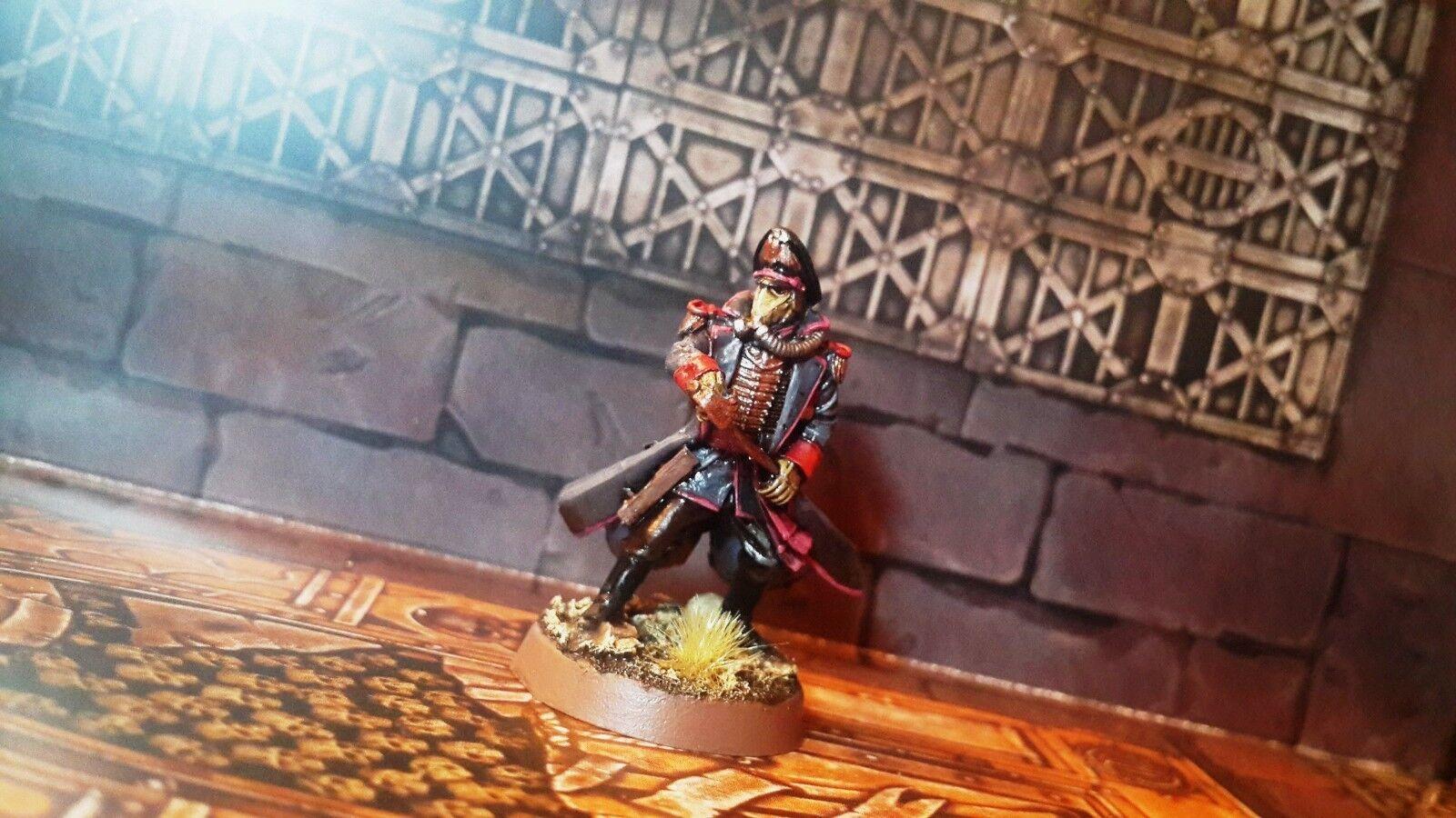 Death Korps of Krieg Commissar 3 painted Warhammer 40k