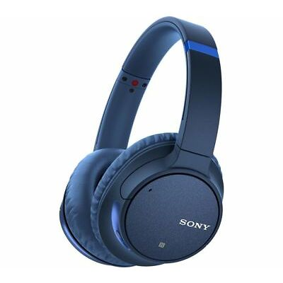 SONY WH-CH700N Wireless Bluetooth Noise-Cancelling Headphones - Blue - Currys