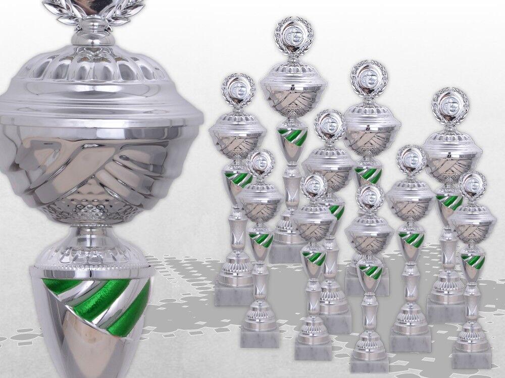 10er Pokalserie KANSAS GROSSE POKALE XXL Pokale mit Gravur günstig GRÜN kaufen GRÜN günstig 1acea5