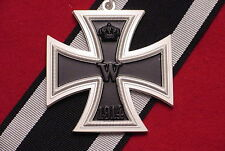 GERMAN EMPIRE GRAND CROSS OF THE IRON CROSS 1914  WITH RIBBON - FIRST WORLD WAR