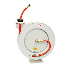 Retractable Airwater Hose Reel With 38 X 50 Feet Rubber Hose Hsr80 64