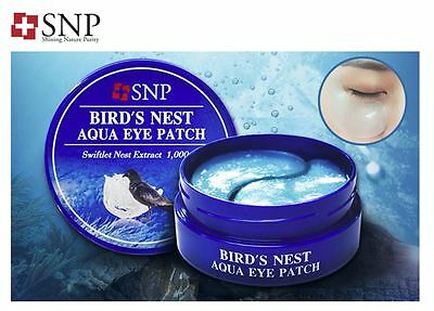 SNP BIRD'S NEST AQUA eye patch Swiftlet Nest Extract (60pcs)