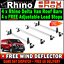 For Nissan NV300 Roof Rack Bars x4 Rhino Delta 2016-2019 SWB-L1 LWB-L2 LOW-H1