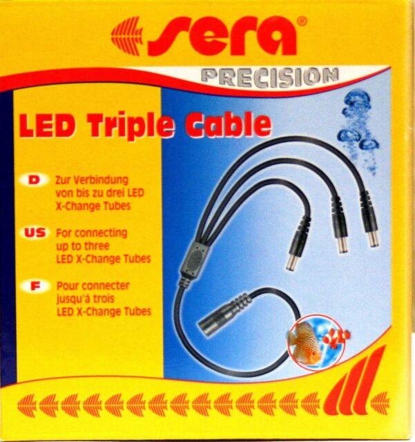 sera LED  Trible Cable für X-Change System für die Verbindung bis zu 3 LED Tubes