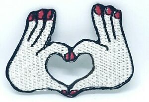 Heart-Hand-Romantic-Iron-Sew-On-Embriodered-Patch-1292