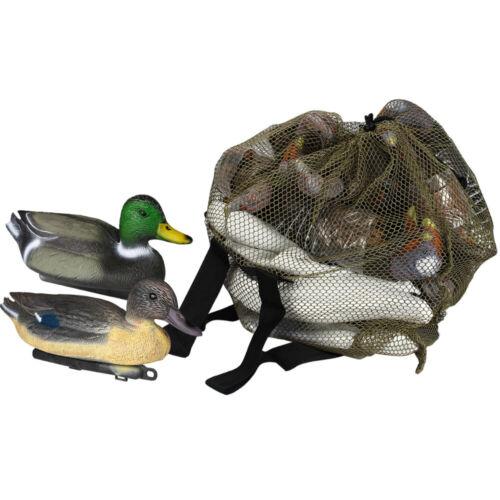 1pc Decoy bag Ducks Turkeys Water birds Geese Mesh Camouflage Backpack