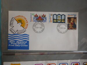 1975-NEW-ZEALAND-CHRISTMAS-SET-3-STAMPS-FDC-FIRST-DAY-COVER
