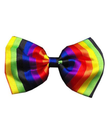 Colour Satin Mens Boys Plain Bow Tie Wedding Party Prom Dress Necktie Ties