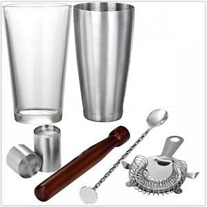 Image Is Loading Tail Shaker Set Professional Bartender Tools Mixing Kit