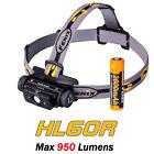 Fenix HL60R Cree LED 950 Lumen USB Rechargeable Headlamp Neutral White Headlight